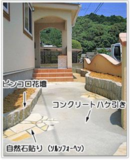 T様邸 門塀とアプローチ工事